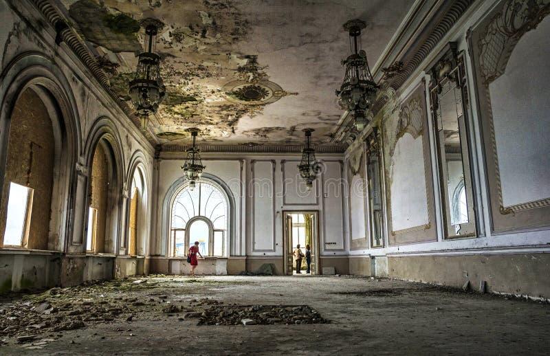 De casinobouw, Constanta, Roemenië royalty-vrije stock foto