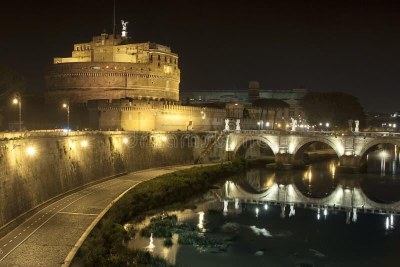 ` de Castel Sant Angelo Vatican Rome - Italie photographie stock