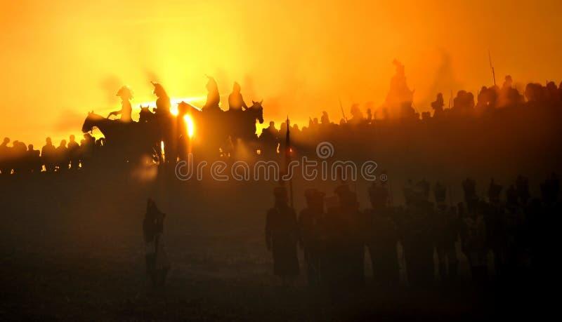 De cavalerie van het spook royalty-vrije stock foto