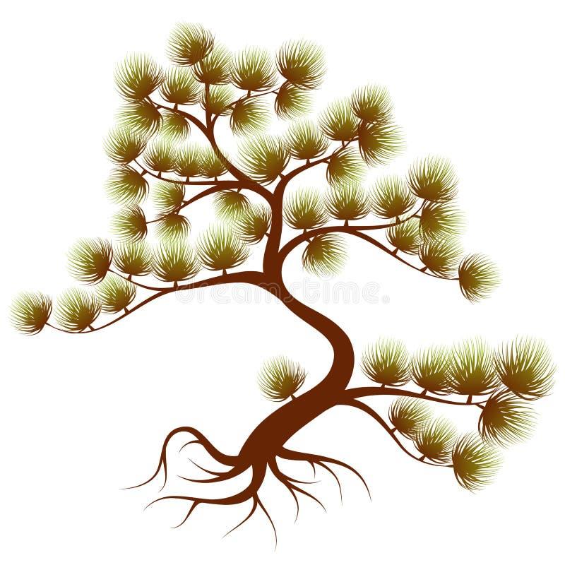 De ceder van de boom stock illustratie