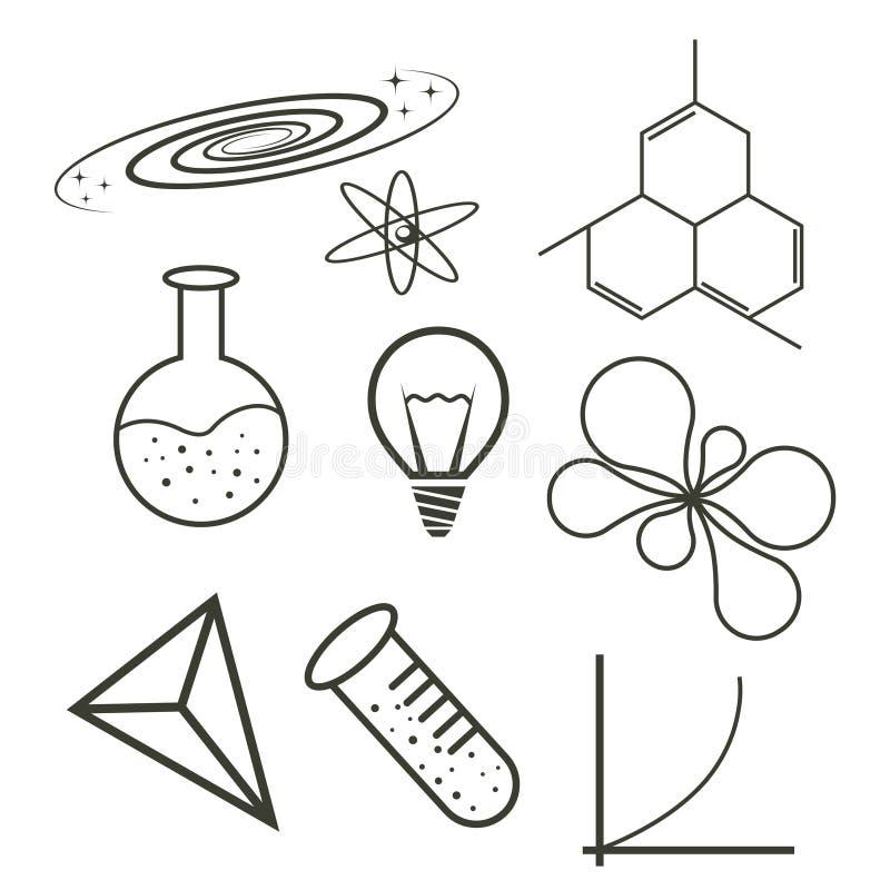 de cel van de pictogrammenkunst stock illustratie