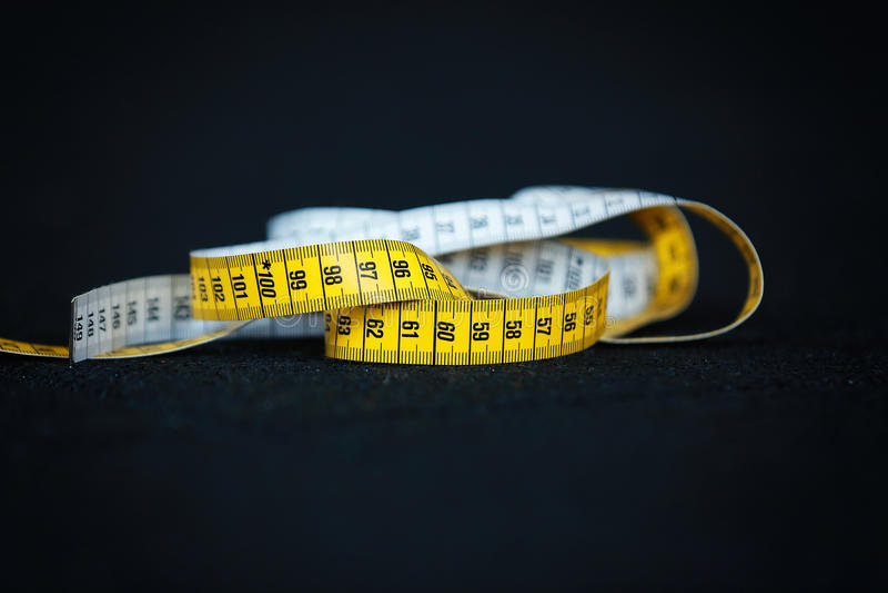 De centimeter van de maatregelenmeter royalty-vrije stock afbeelding