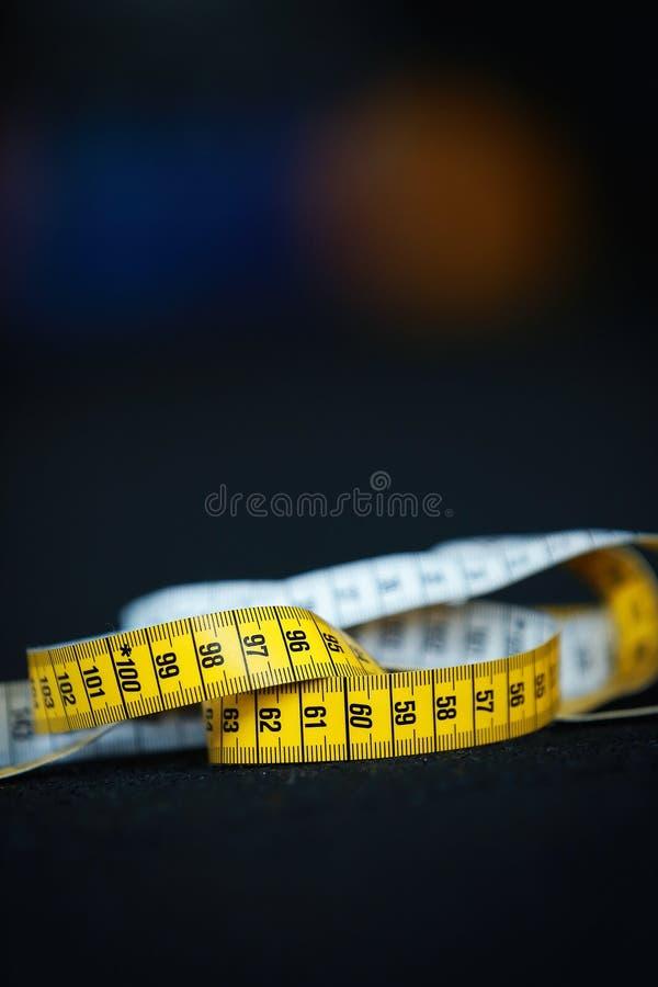 De centimeter van de maatregelenmeter stock foto's