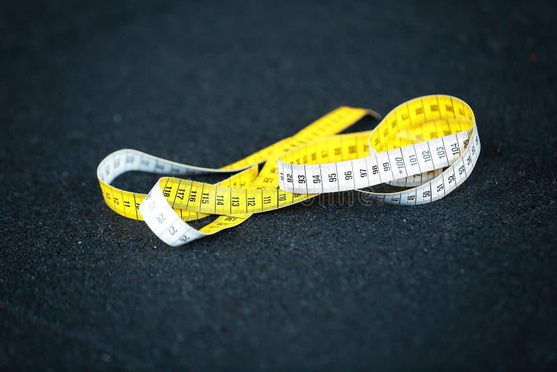 De centimeter van de maatregelenmeter stock afbeelding