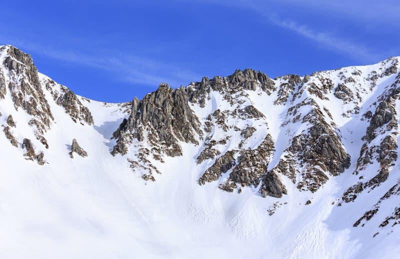 De Centrale Alpen van Japan royalty-vrije stock afbeeldingen