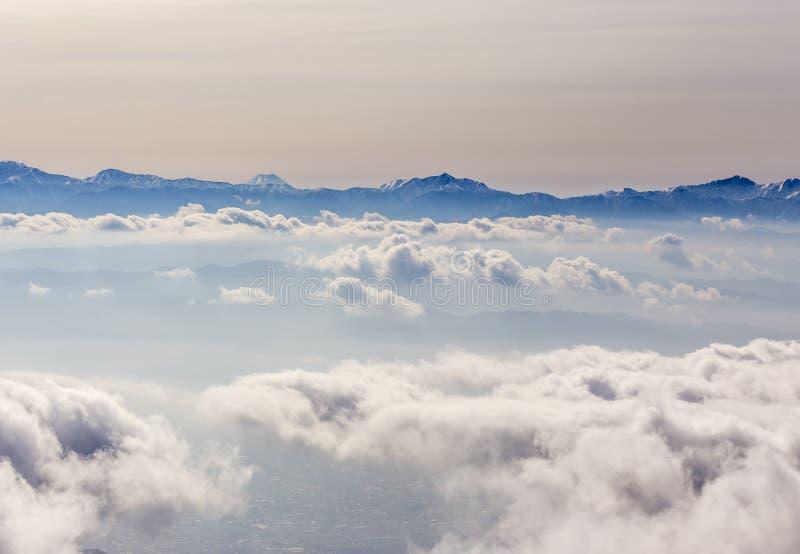 De Centrale Alpen van Japan stock foto