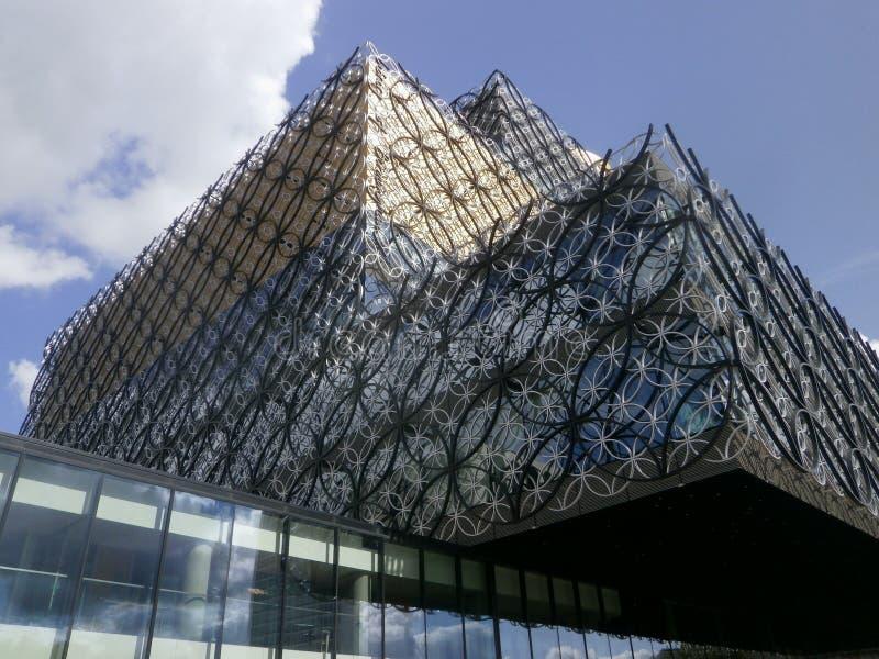 De Centrale Bibliotheek van Birmingham stock foto's
