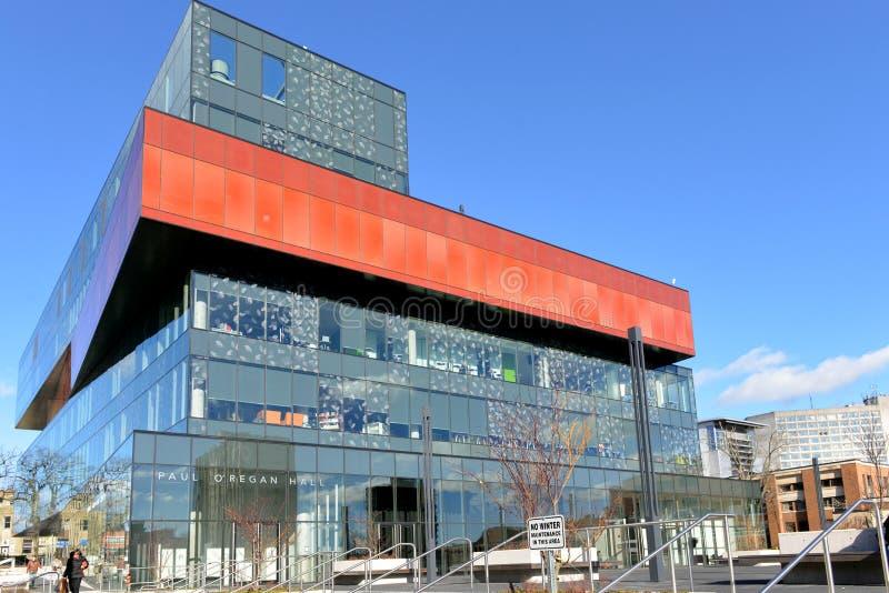 De Centrale Bibliotheek van Halifax stock foto