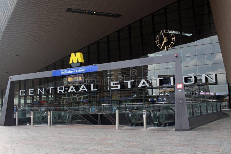 De centrale post van Rotterdam royalty-vrije stock fotografie