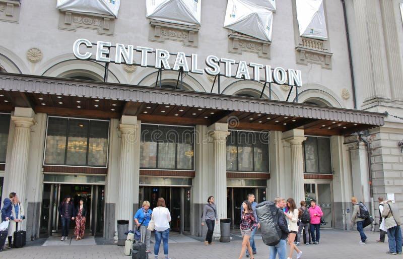 De Centrale Post van Stockholm stock afbeeldingen
