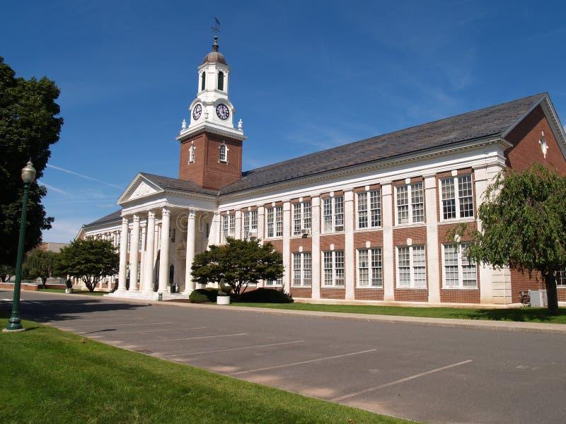 De centrale Universiteit van de Staat van Connecticut stock afbeelding