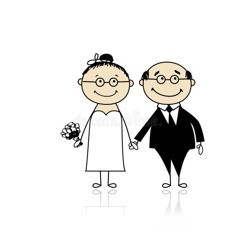 De ceremonie van het huwelijk bruid en bruidegom samen