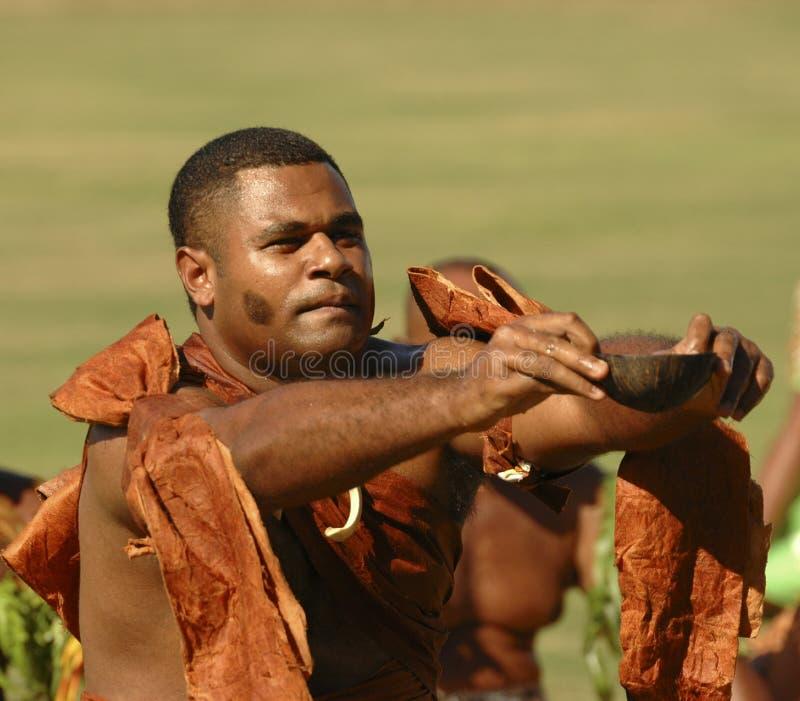 De Ceremonie van Kava royalty-vrije stock foto's