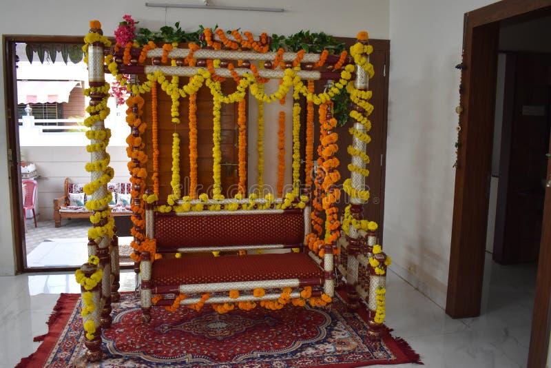 De ceremoniedecoratie van de babydouche royalty-vrije stock afbeeldingen
