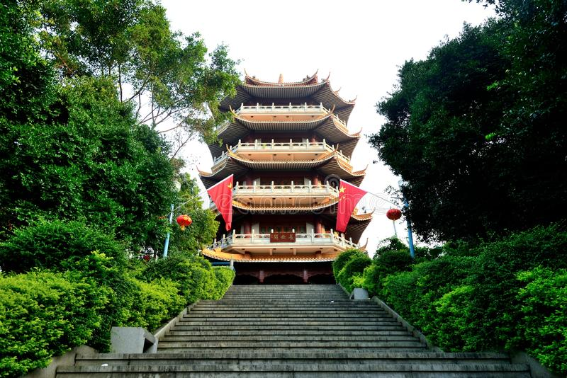 ` De Chang uma torre do parque fotos de stock royalty free