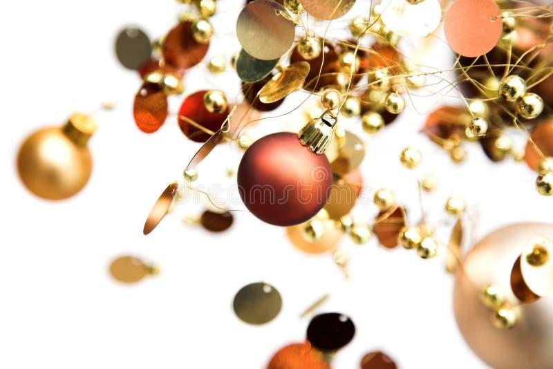 De chaos van Kerstmis royalty-vrije stock afbeeldingen