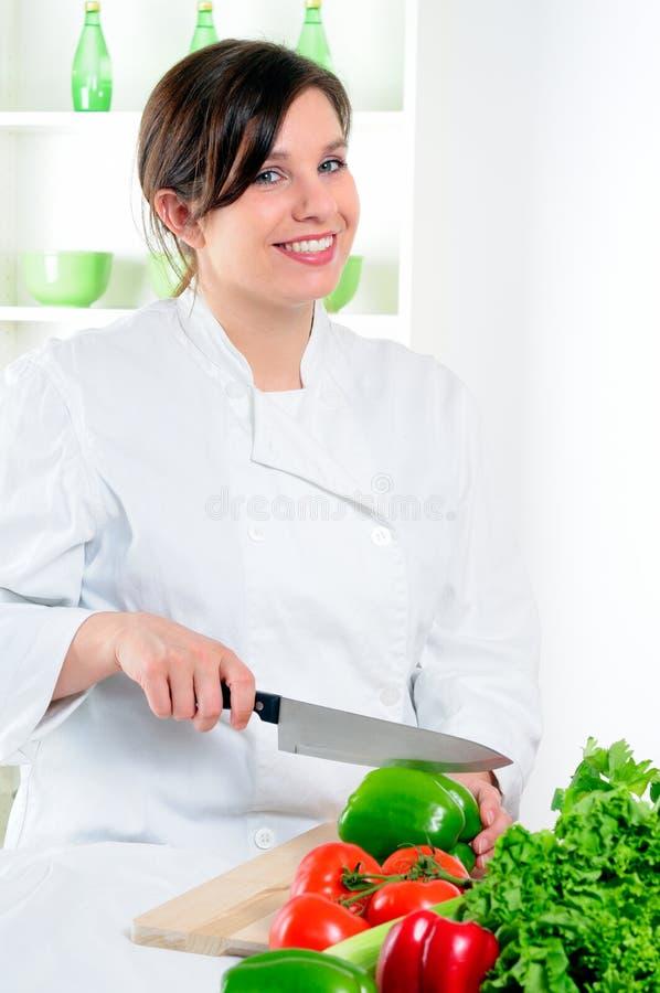 De Chef-kok van de vrouw