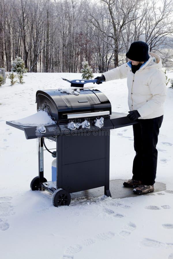 De Chef-kok van de winter royalty-vrije stock afbeeldingen