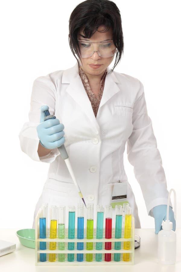 De chemie van de wetenschap royalty-vrije stock afbeelding
