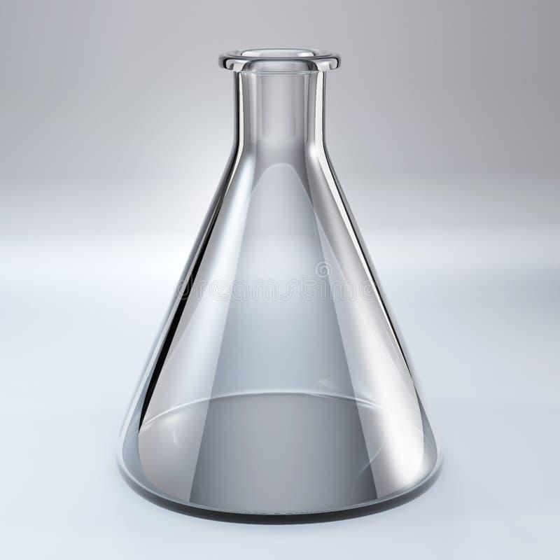 De chemische fles van het glas vector illustratie