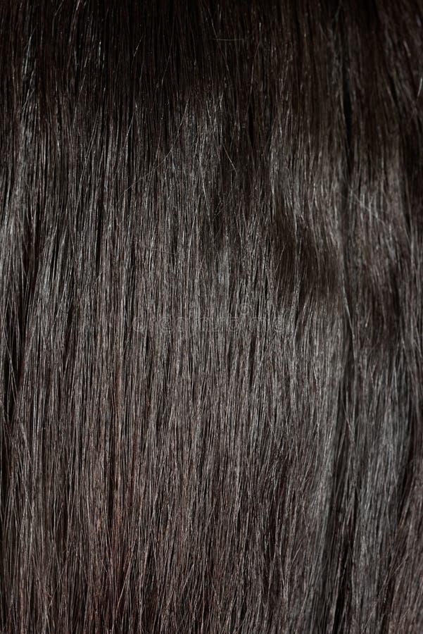De cheveux noirs de fin dos  photos stock