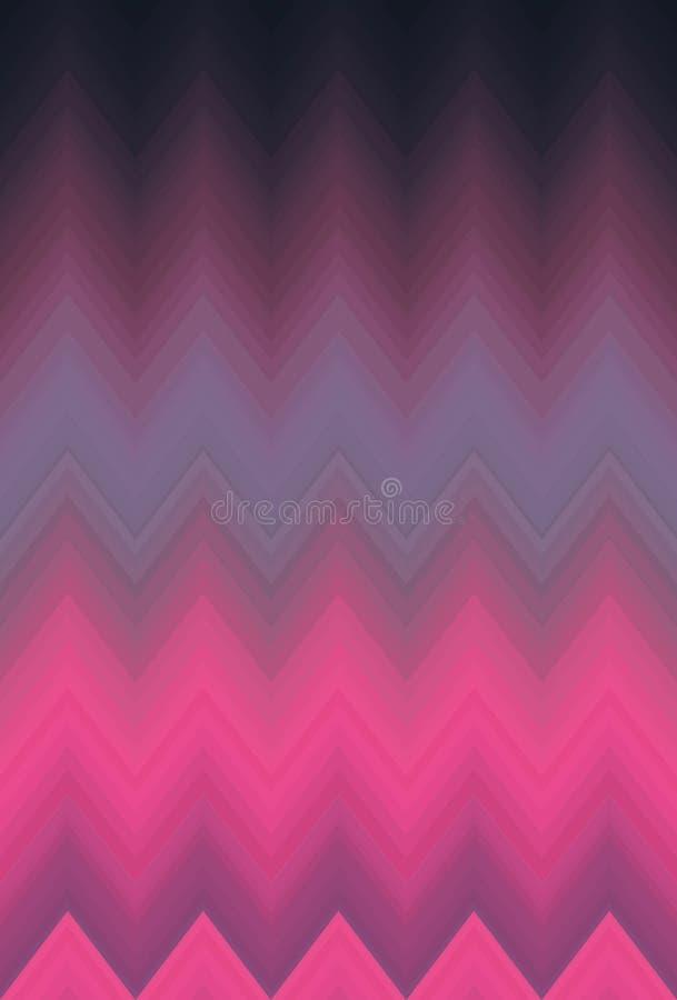 De chevronzigzag van het gradi?nt vlotte onduidelijke beeld Kunstachtergrond vector illustratie