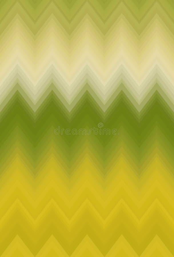 De chevronzigzag van het gradi?nt vlotte onduidelijke beeld Kunstdecor royalty-vrije illustratie