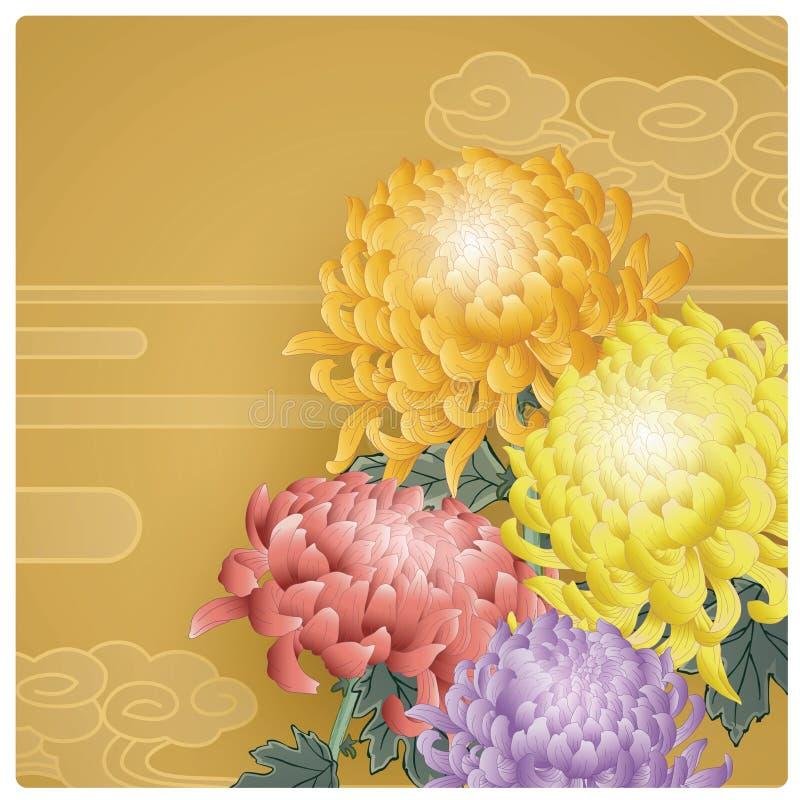 De Chinese Achtergrond van het Nieuwjaar royalty-vrije illustratie