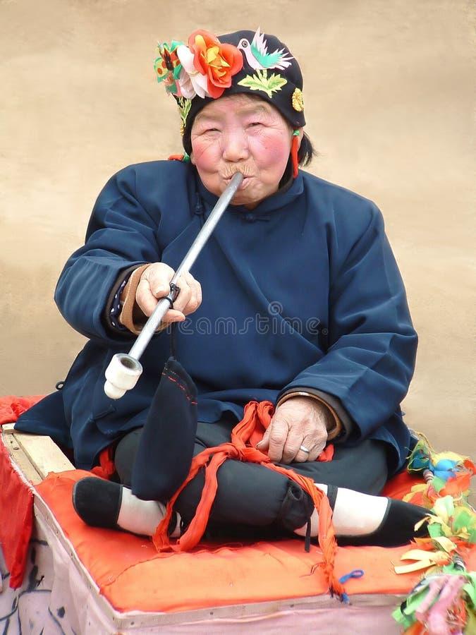 Download De Chinese Actrice Van Het Dorp Stock Foto - Afbeelding: 165554