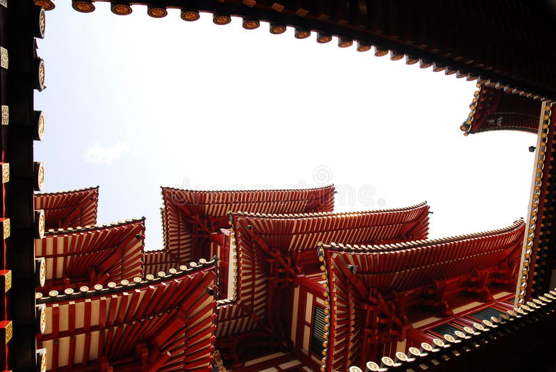 De Chinese Bouw royalty-vrije stock fotografie