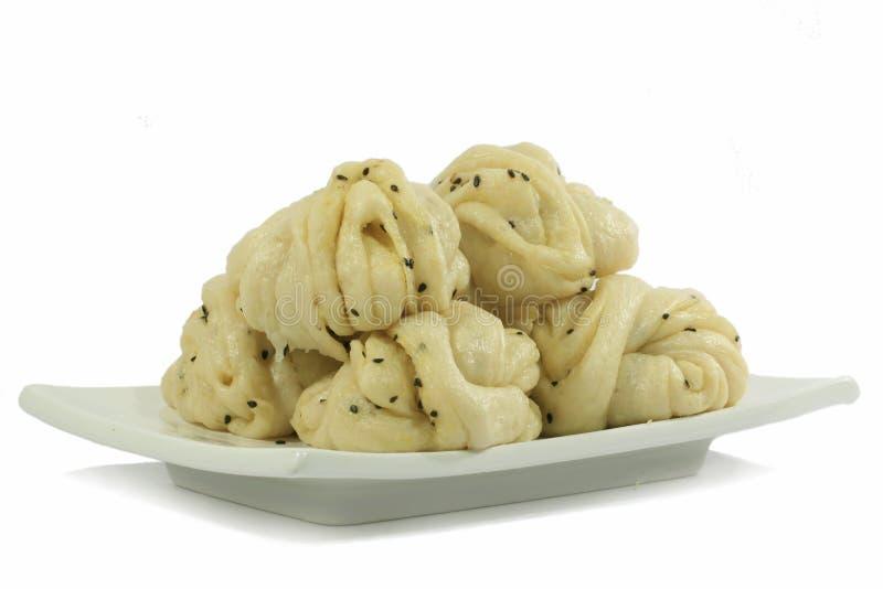 De Chinese Broodjes van de Bloem stock afbeelding
