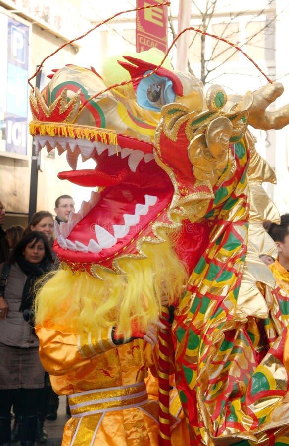 De Chinese Dag van het Nieuwjaar royalty-vrije stock fotografie