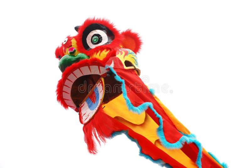 De Chinese Dans van de Leeuw royalty-vrije stock afbeeldingen