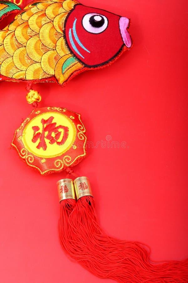 De Chinese decoratie van het Nieuwjaar, stock afbeeldingen