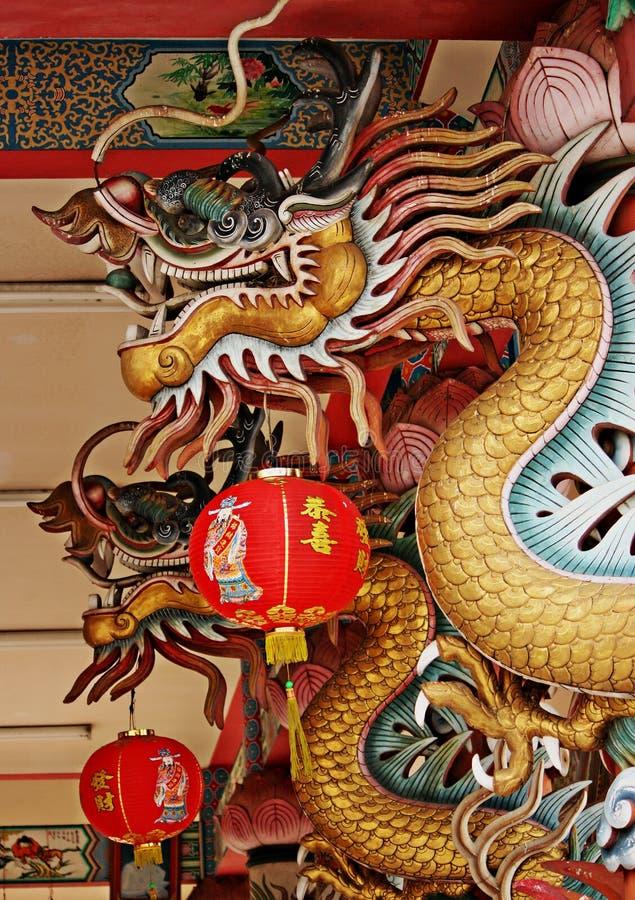 De Chinese draak van fengshui royalty-vrije stock foto's
