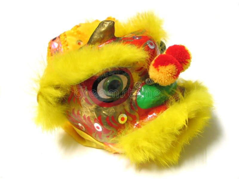 De Chinese Leeuw van het Nieuwjaar stock foto
