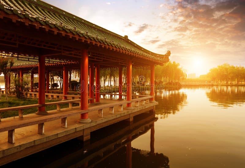 Download De Chinese Oude Architectuur Stock Afbeelding - Afbeelding bestaande uit boot, vakantie: 29500857