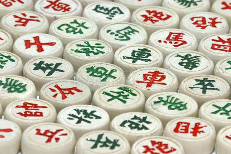 De Chinese Reeks van het Schaak stock afbeelding