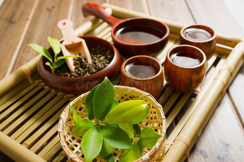 De Chinese theeceremonie stock fotografie