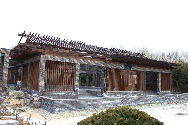 De Chinese traditionele kleine bouw royalty-vrije stock afbeeldingen