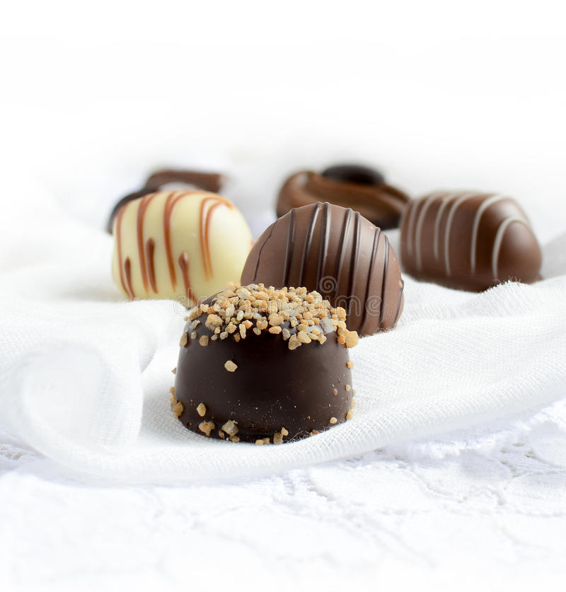 De Chocolade van België royalty-vrije stock afbeelding