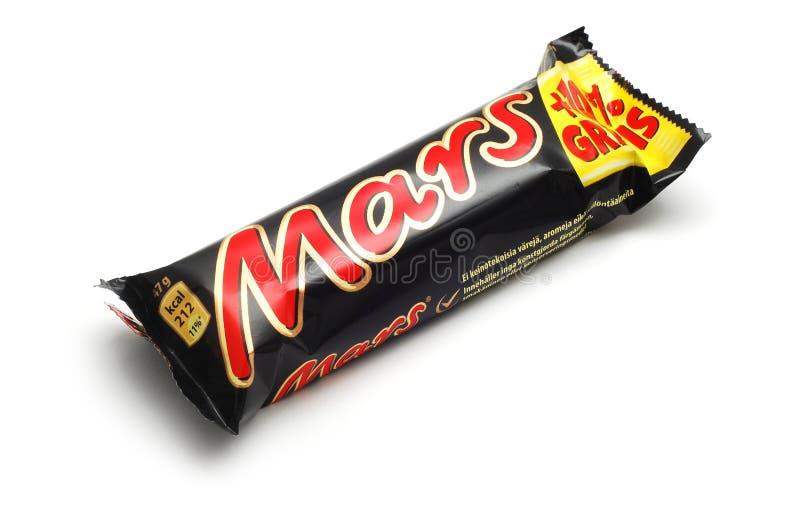 De chocolade van Mars stock fotografie