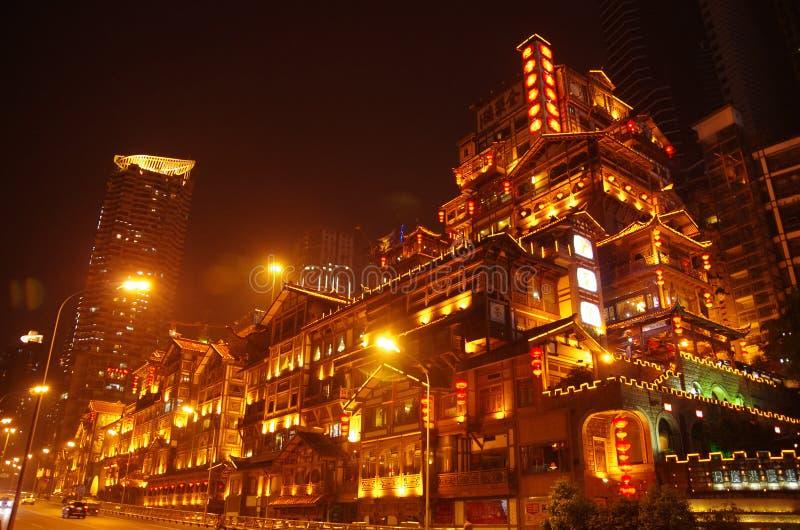 De Chongqingsbouw royalty-vrije stock foto's