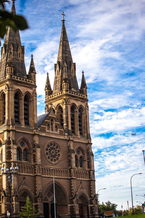 De christendomkerk in Australië is ahistoric monument royalty-vrije stock fotografie
