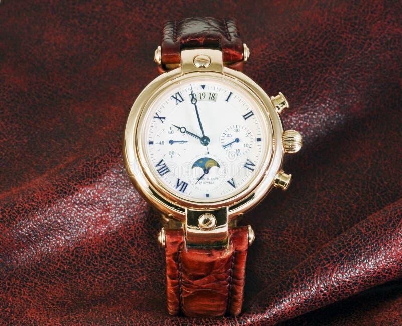 De chronograaf van horloges royalty-vrije stock afbeeldingen