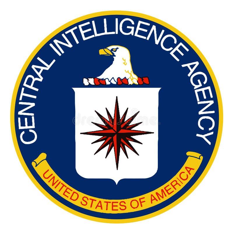 De CIA-Embleem stock illustratie