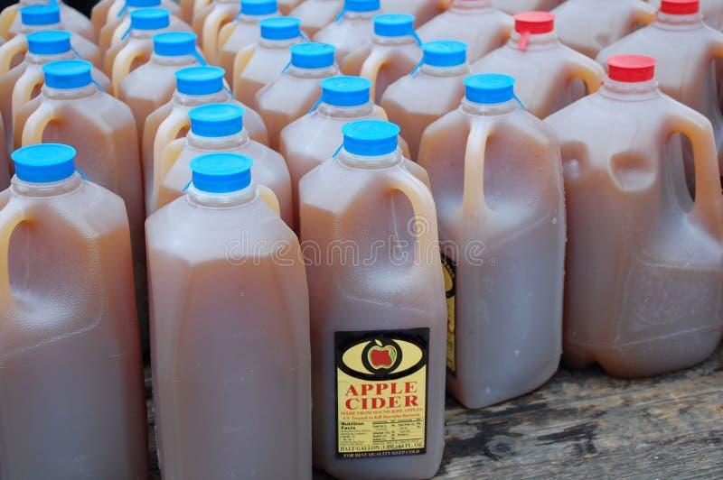 De Cider van de appel royalty-vrije stock foto