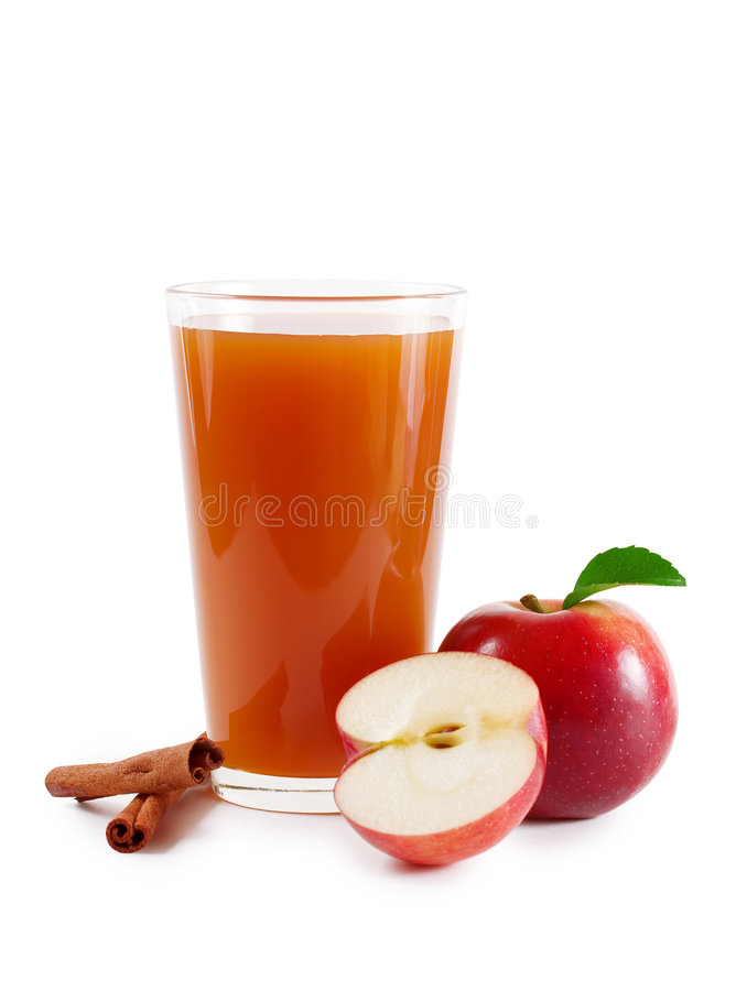 De cider van de appel royalty-vrije stock afbeelding