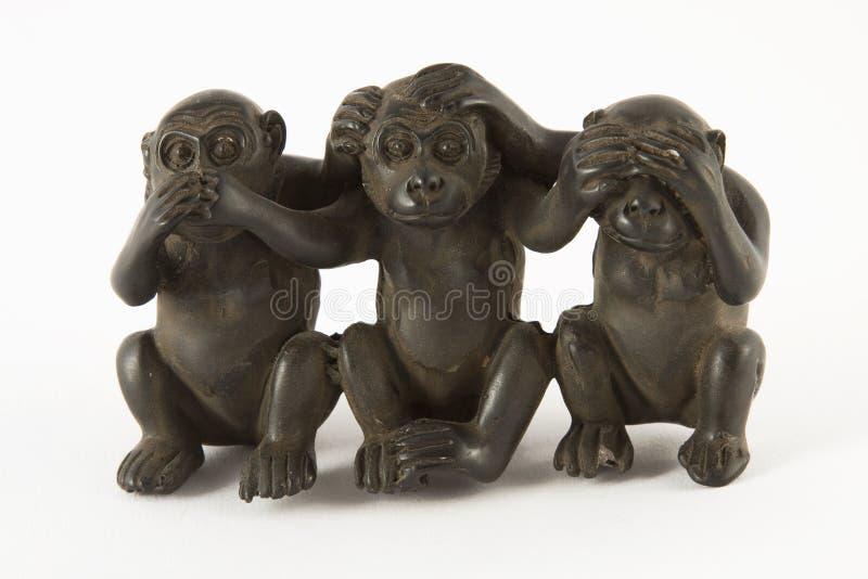De cijfers van de aap stock foto's