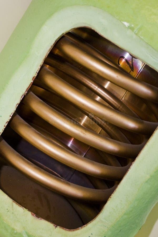 De Cilinder van het hete Water stock fotografie
